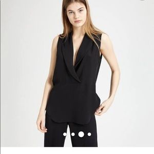 Theory Tops - THEORY BLACK BLOUSE
